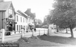 Exford, The Post Office c.1955