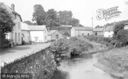 Exford, The River c.1955