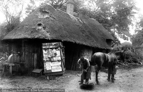 Exford, The Smithy c.1920