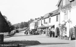 Exford, The Village c.1938