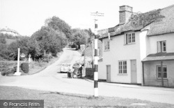 Exford, The Village c.1955