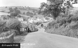 Exford, The Village c.1960