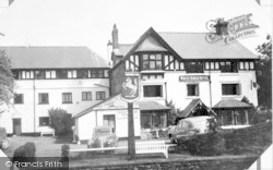 Exford, White Horse Hotel c.1955
