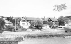 Exford, White Horse Hotel c.1960