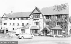 Exford, White Horse Hotel c.1965
