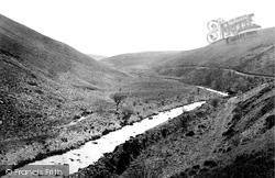 Exmoor, Badgworthy Valley c.1874