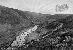 Badgworthy Valley c.1874, Exmoor