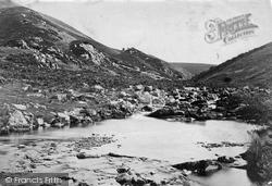 Exmoor, Badgworthy Valley c.1875