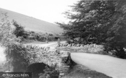 Bridge Over The River Lyn c.1965, Exmoor