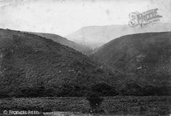 Exmoor, Cloutsham Ball c.1872