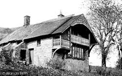 Cloutsham Farm House c.1875, Exmoor