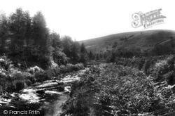 Exmoor, Doone Glen 1900