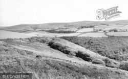 Exmoor, Dunkery Beacon From Whitestones c.1960