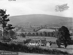 Dunkery From Tivington 1921, Exmoor