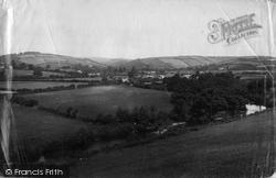 Exmoor, Exe Bridge And Valley 1886