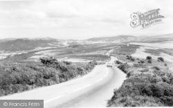 Exmoor, Porlock-Lynmouth Road c.1960