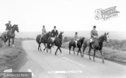 Exmoor, Riding On Exmoor c.1960