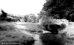 Exmoor, River Lyn c.1965