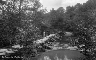 Exmoor, Tarr Steps 1929