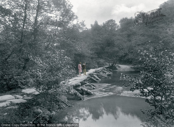 Photo of Exmoor, Tarr Steps 1929