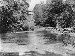 Exmoor, Tarr Steps And Farm c.1890