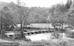 Exmoor, Tarr Steps c.1955
