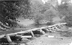 Exmoor, Tarr Steps c.1960