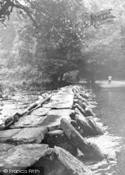 Exmoor, Tarr Steps c.1965