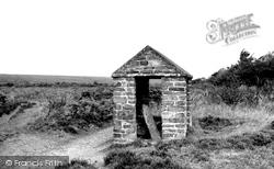 Exmoor, The Caratacus Stone c.1955