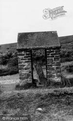 Exmoor, The Caratacus Stone, Winsford Hill c.1955
