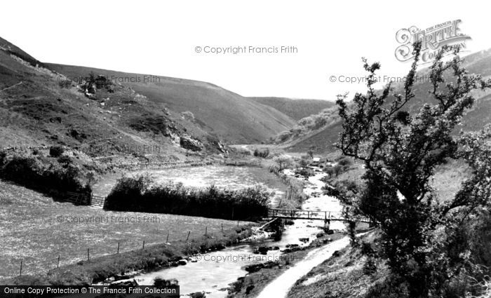 Photo of Exmoor, the Doone Valley c1960, ref. E51001
