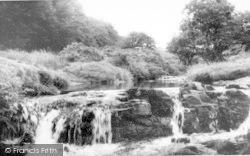 Exmoor, The River Lyn c.1965