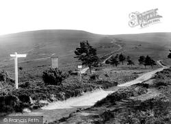 Exmoor, Webber's Post 1921