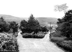 Exmoor, Webbers Post c.1955