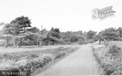 Exmoor, Webbers Post c.1960