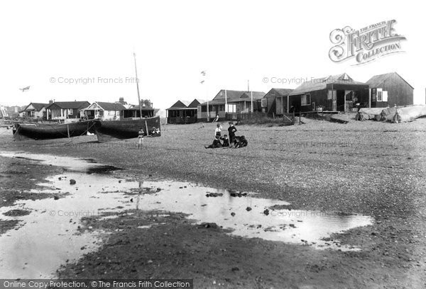 Exmouth, Beach Bungalows 1906