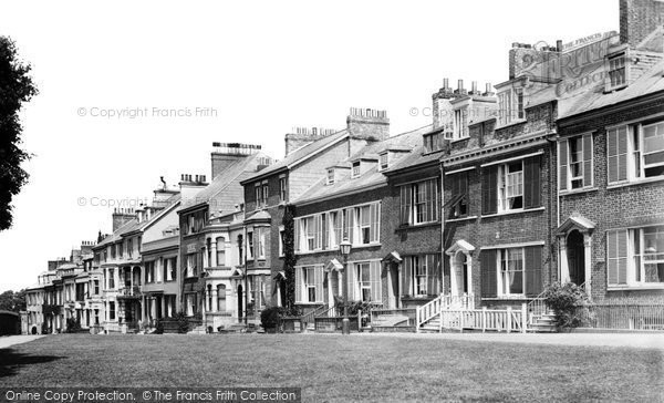 Exmouth, Beacon Terrace 1906