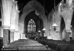 Exmouth, Church Interior 1890