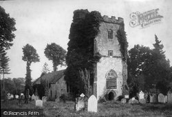 Exmouth, Church Of St John In The Wilderness 1890