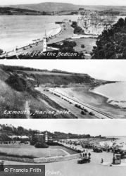 Exmouth, Composite c.1955