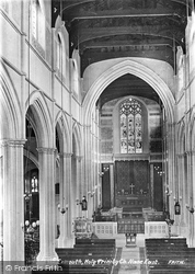Exmouth, Holy Trinity Church Nave East 1890