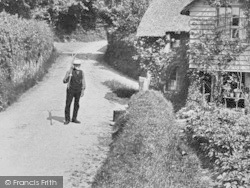 Exmouth, Hulham, A Farmer 1906