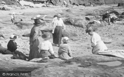 Orcombe Point, Ladies 1918, Exmouth