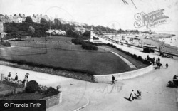 Parade And Clock Tower 1906, Exmouth