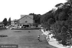 Pavilion Gardens c.1955, Exmouth