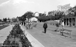 Promenade And Swimming Pool 1938, Exmouth