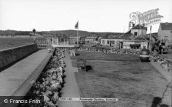 Promenade Gardens c.1965, Exmouth