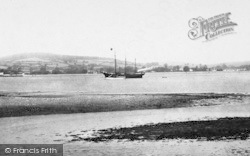 Exmouth, Steamship In The Estuary 1895