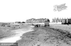 Exmouth, The Beach 1890