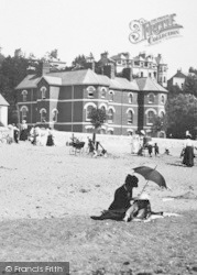 Exmouth, The Beach 1898